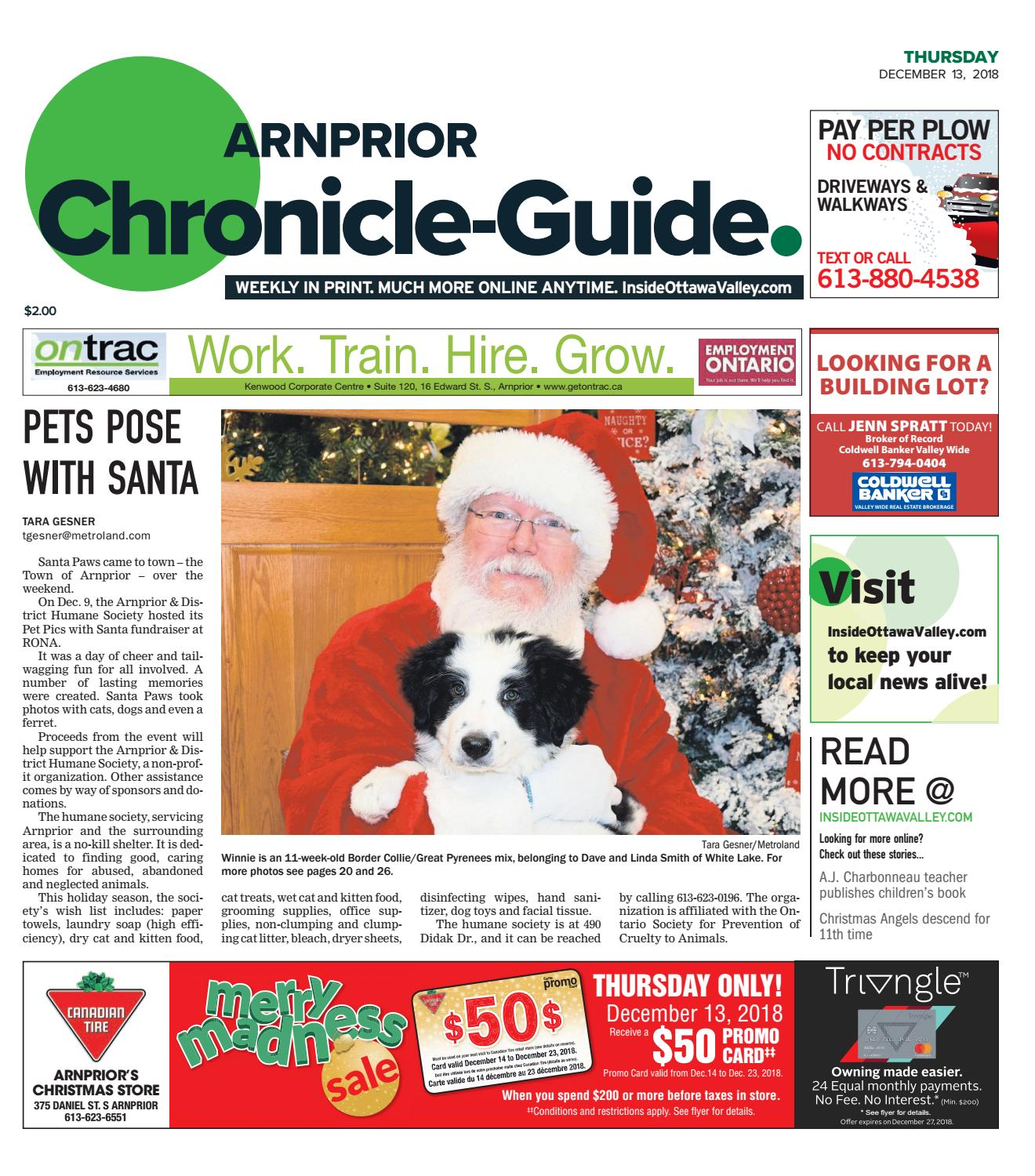 pretty nice e1624 77983 ARN A 20181213 by Metroland East - Arnprior Chronicle-Guide - issuu