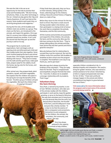 Page 17 of Farm program helps kids build empathy and compassion