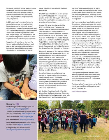 Page 19 of One school's reconciliation journey