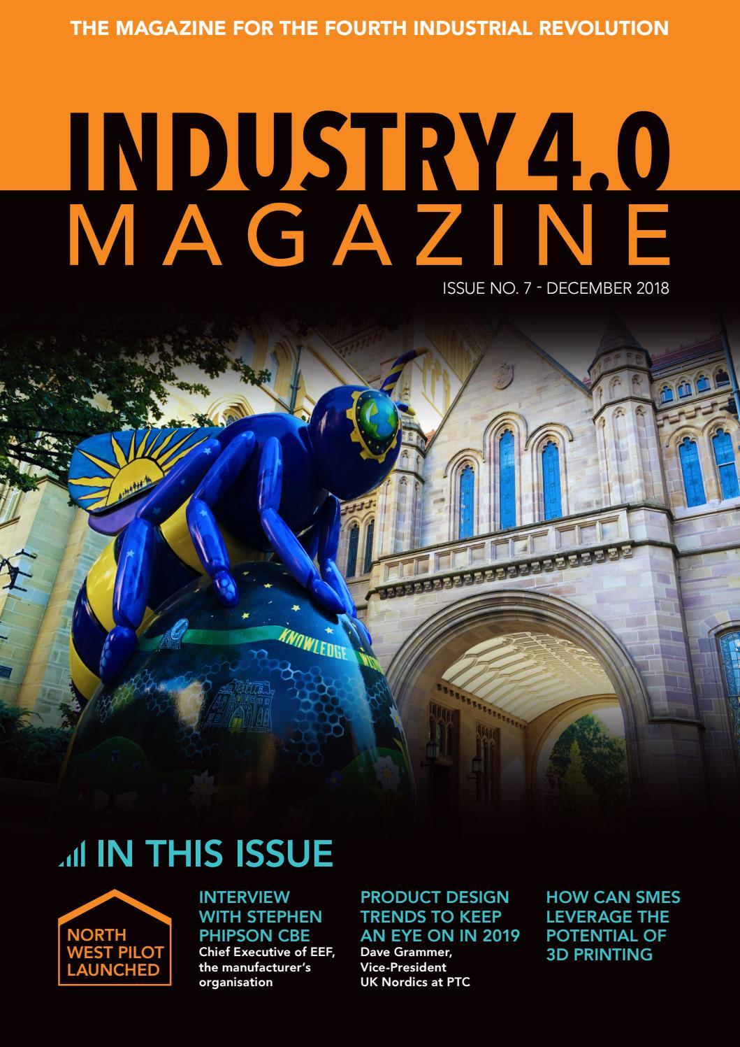 Industry 4 0 Magazine by GB Media & Events Ltd  - issuu