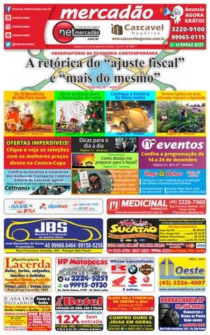 1c9a7385e Jornal Mercadão Online Grátis - 14 a 20 de dezembro de 2018 by ...