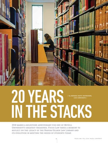 Page 10 of 20 years in the stacks