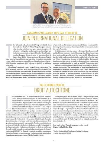 Page 17 of Actualités étudiantes