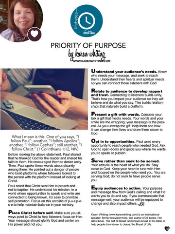 Page 33 of Priority Of Purpose