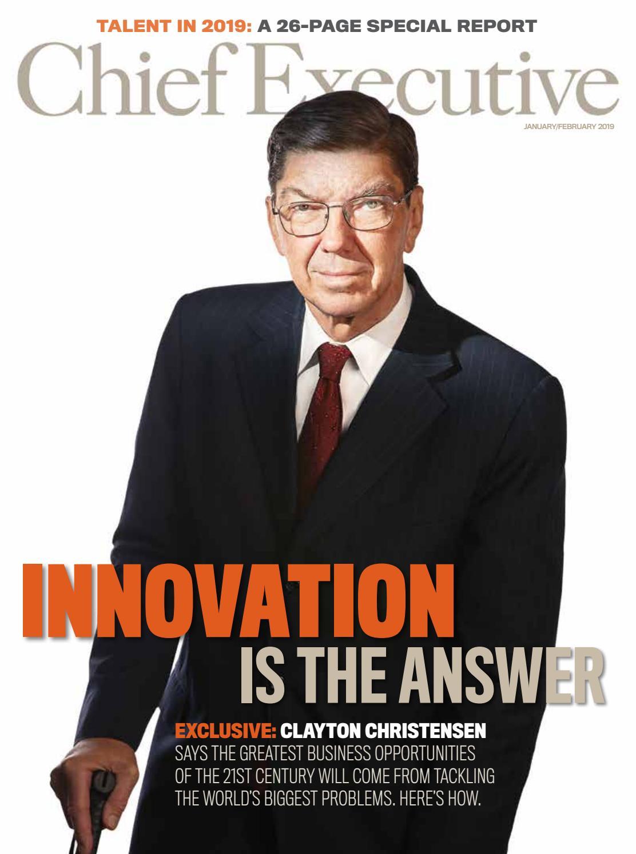 393f0eb98b5f88 January/February 2019 Chief Executive Magazine by Chief Executive Group -  issuu