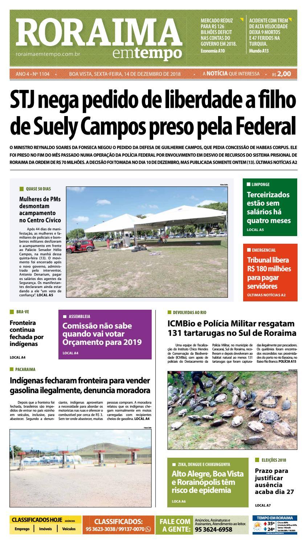 d529aa4dc5d Jornal Roraima em tempo – edição 1104 by RoraimaEmTempo - issuu