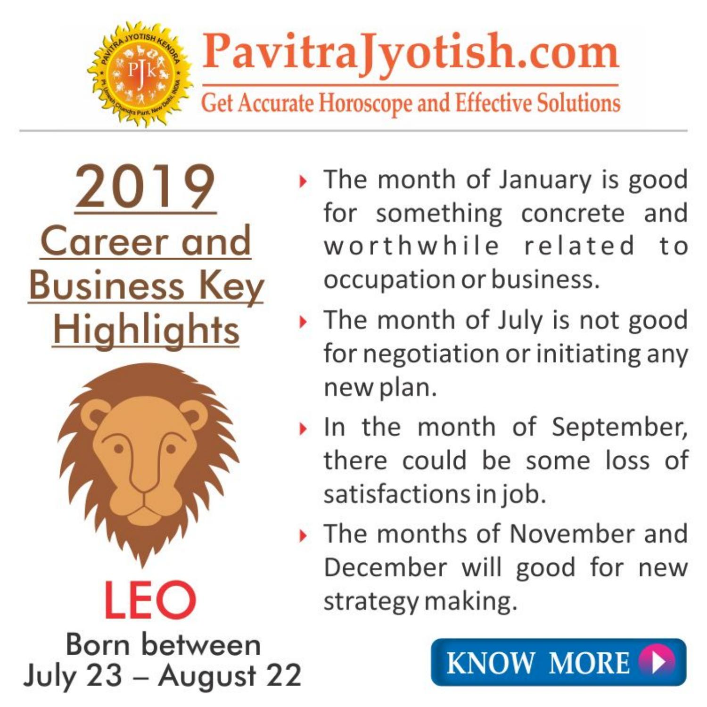 leo jobs horoscope