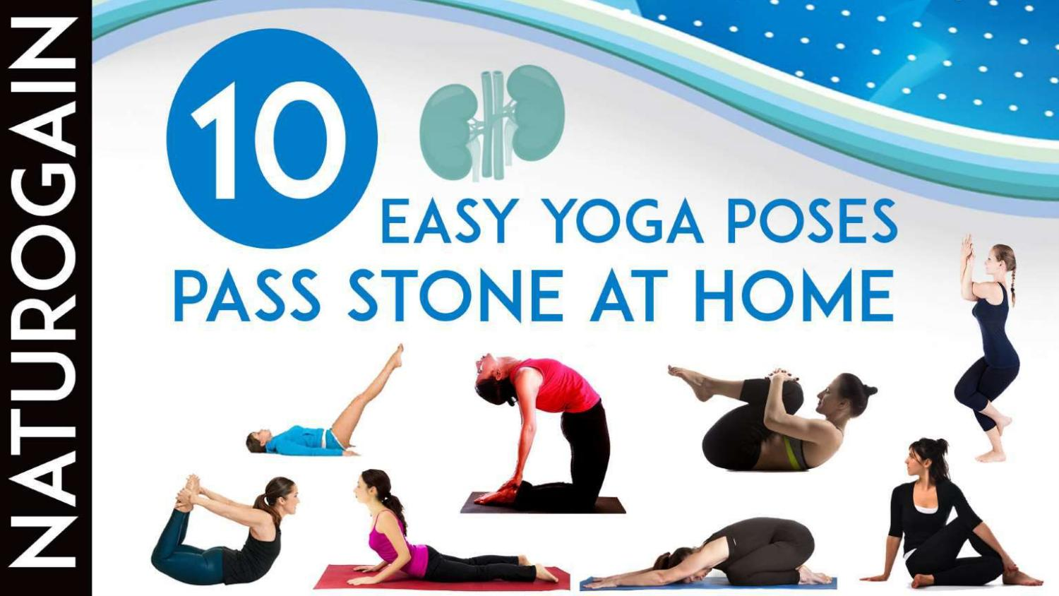 30 EASY Yoga Poses to Get Rid of Kidney Stones at Home by Caron