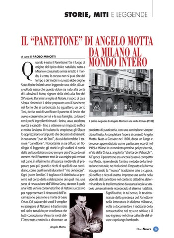 Page 3 of Il Panettone di Angelo Motta. Da Milano al Mondo intero