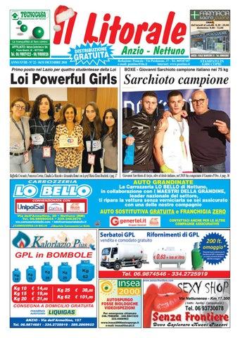 IL LITORALE - Anno XVIII - N. 22 - 16 31 Dicembre 2018 by Il Pontino ... 1501a94a7a0