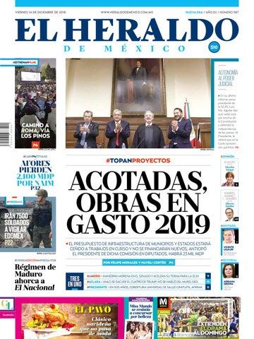 14 de diciembre de 2018 by El Heraldo de México - issuu 899d366bf28ca