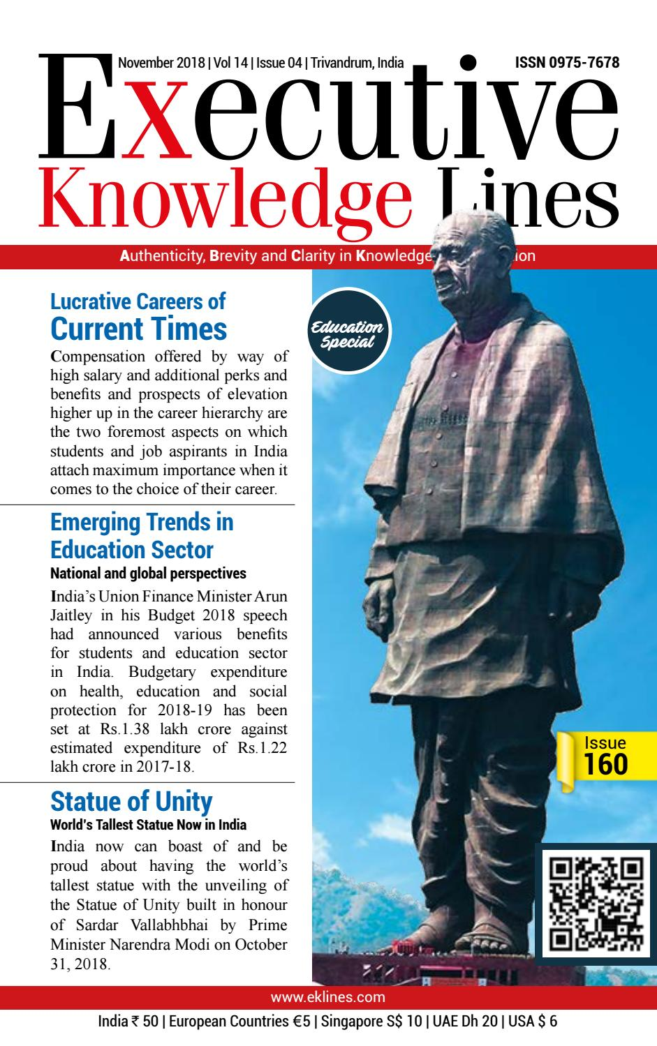 EXECUTIVE KNOWLEDGE LINES-November 2018 by Metro Mart