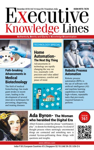 EXECUTIVE KNOWLEDGE LINES-December 2018 by Metro Mart