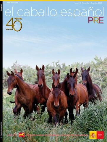 El Caballo Español Magazine 2018 N243 By Revista El Caballo Español