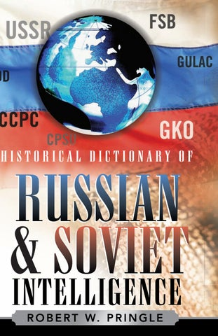 924b2a51683 Russia â  x20AC ˘ Military   Security Historical Dictionaries of  Intelligence and Counterintelligence