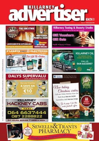 f8afa51e9 Killarney Advertiser December 14th 2018 by Killarney Advertiser - issuu