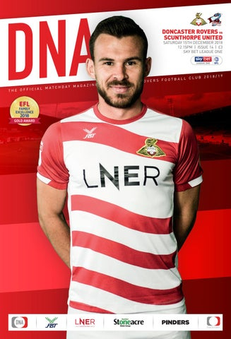 a026022f943 Doncaster Rovers v Scunthorpe United Official Matchday Magazine 2018 ...