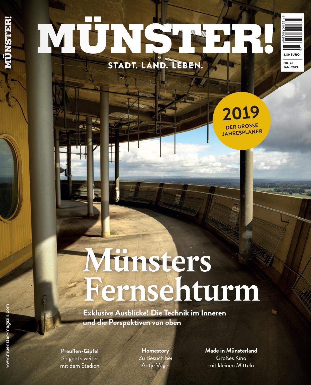 mÜnster! nr. 76 januar 2019mÜnster! magazin - issuu
