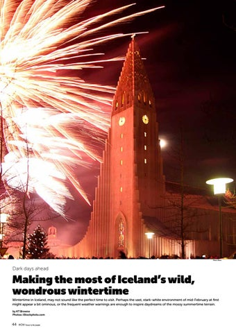 Page 44 of Making the Most of the Icelandic Wintertime