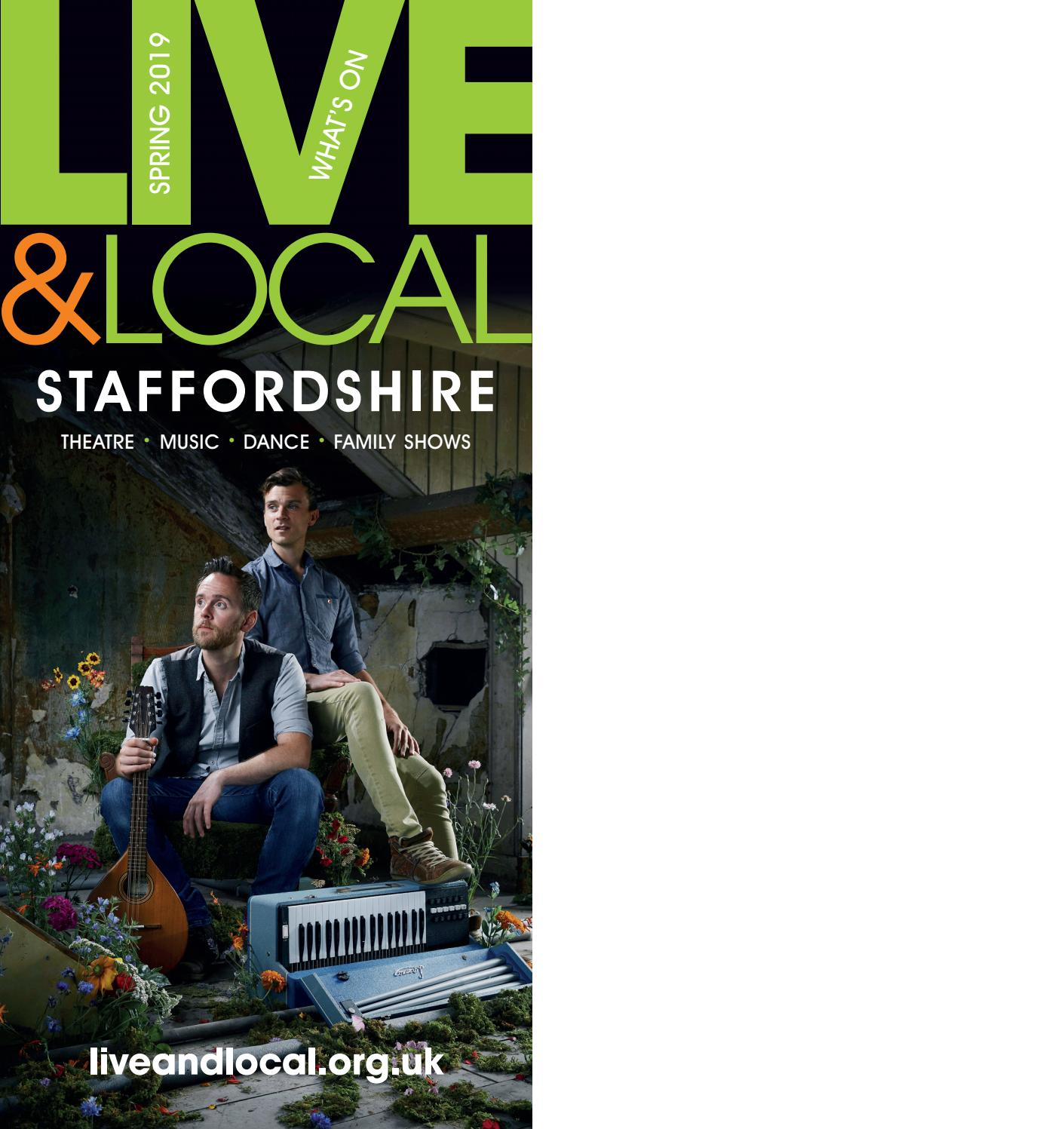 Live & Local Staffordshire: Spring/Summer 2019 What's On ...