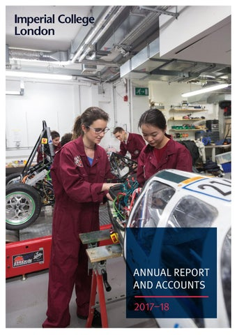 Imperial College London Annual Report and Accounts | 2017-18 by