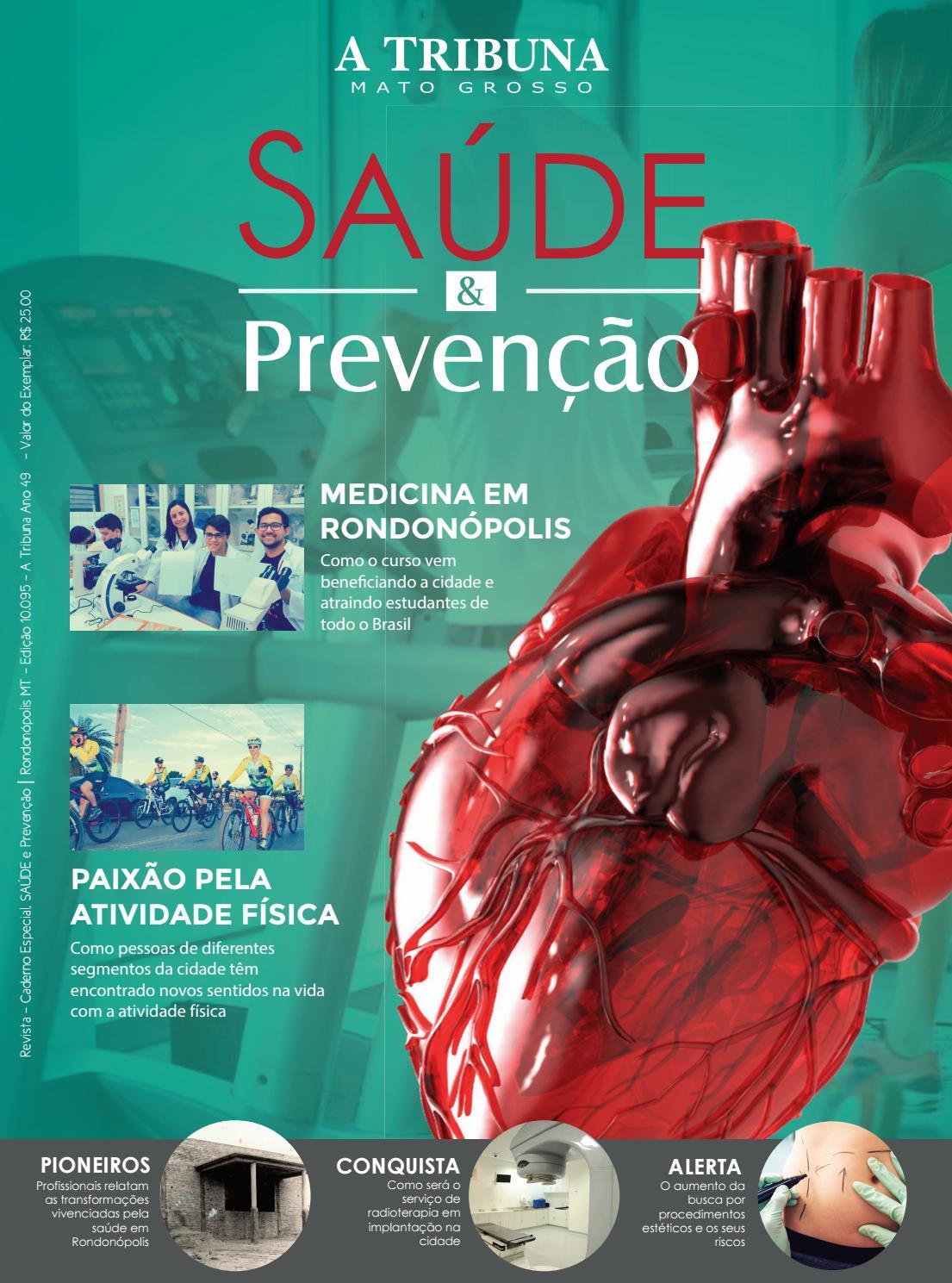 e3c72f05a Revista Saúde & Prevenção by A TRIBUNA MT - issuu