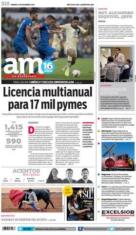 14 I 12 I 2018 by AM Queretaro - issuu 4f0fa3b8380