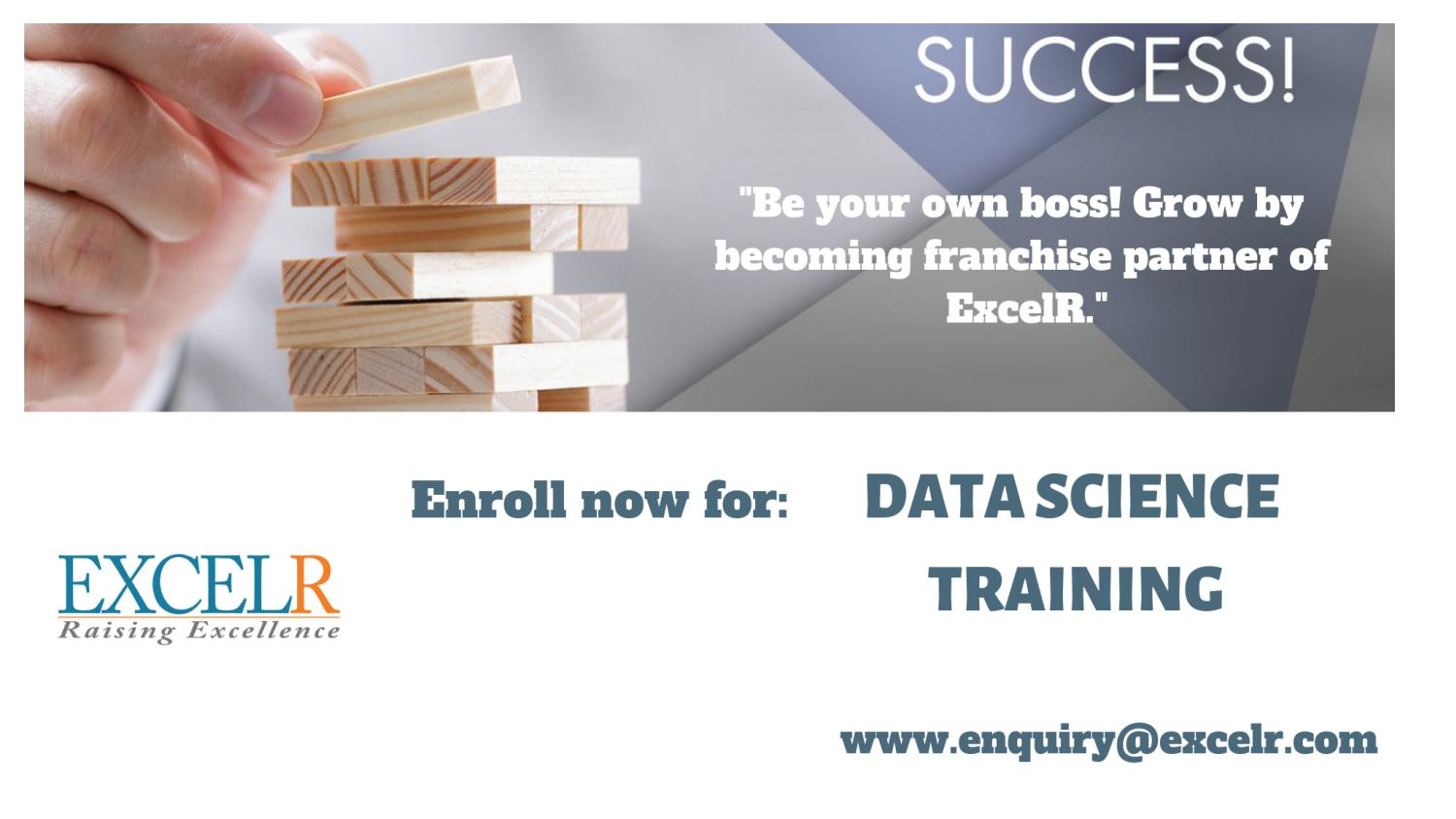 Excelr Solutions Data Science Course Training Pmp Certification