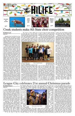 4d06a0e7240 2018 November December by Clear Creek HiLife - issuu