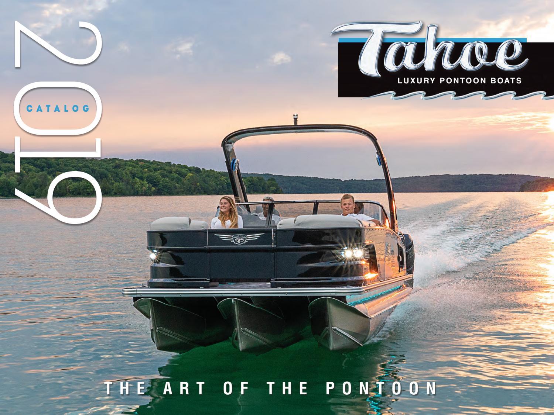 2019 Tahoe Pontoons Brochure by avalonpontoons - issuu