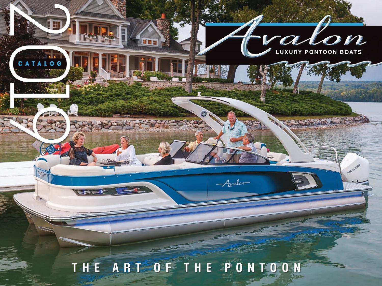 2019 Avalon Pontoons Brochure by avalonpontoons - issuu