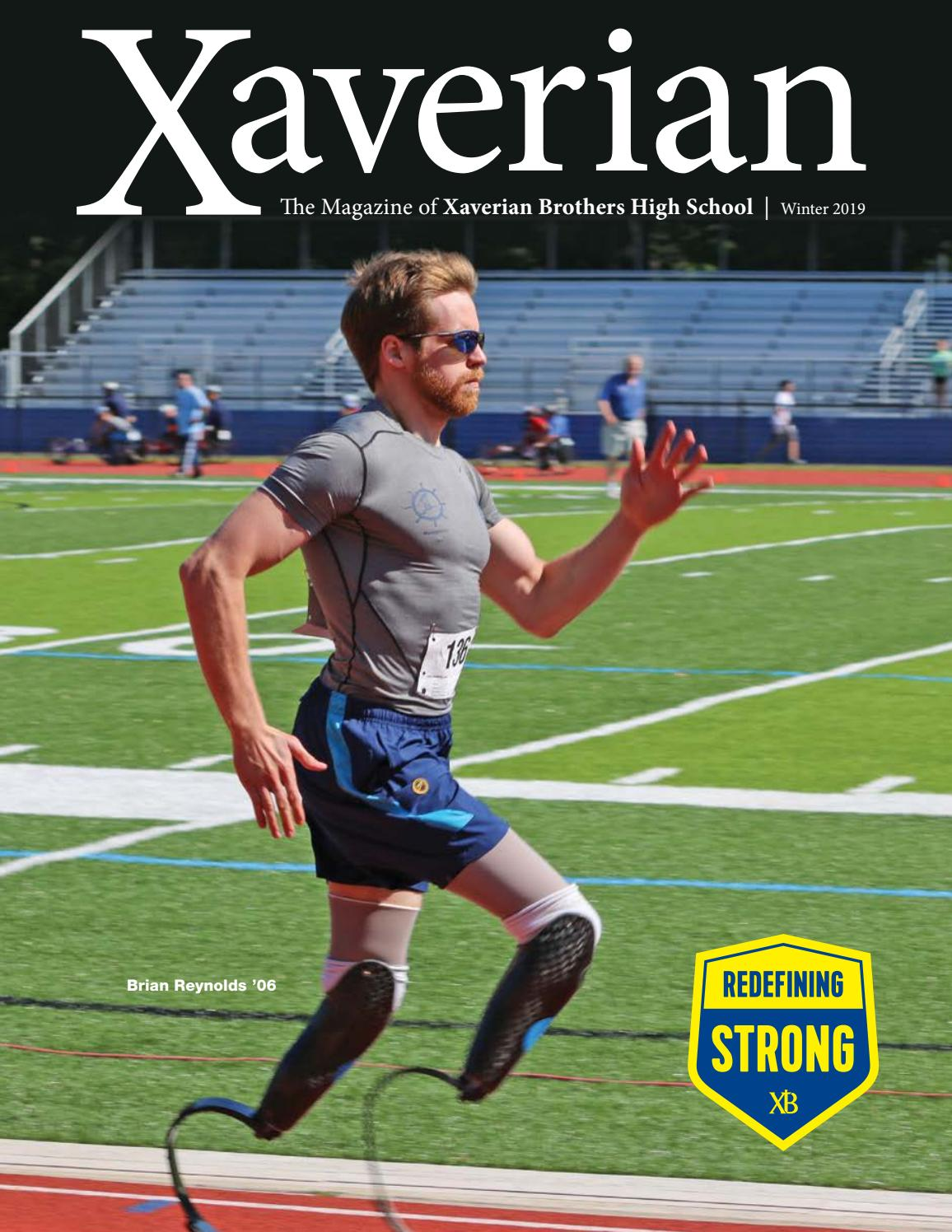 2d41ed3179 Winter 2019 - Xaverian Magazine by Xaverian Brothers High School - issuu