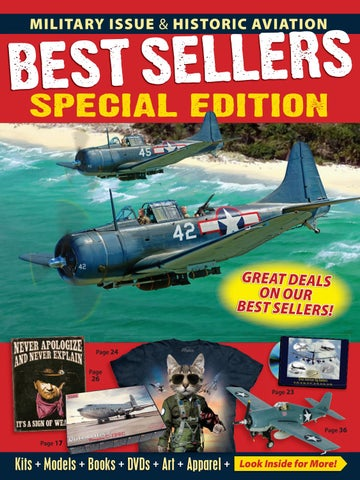 dfaa5f3706a4 Military Issue   Historic Aviation Best Sellers 2018 Special Edition ...