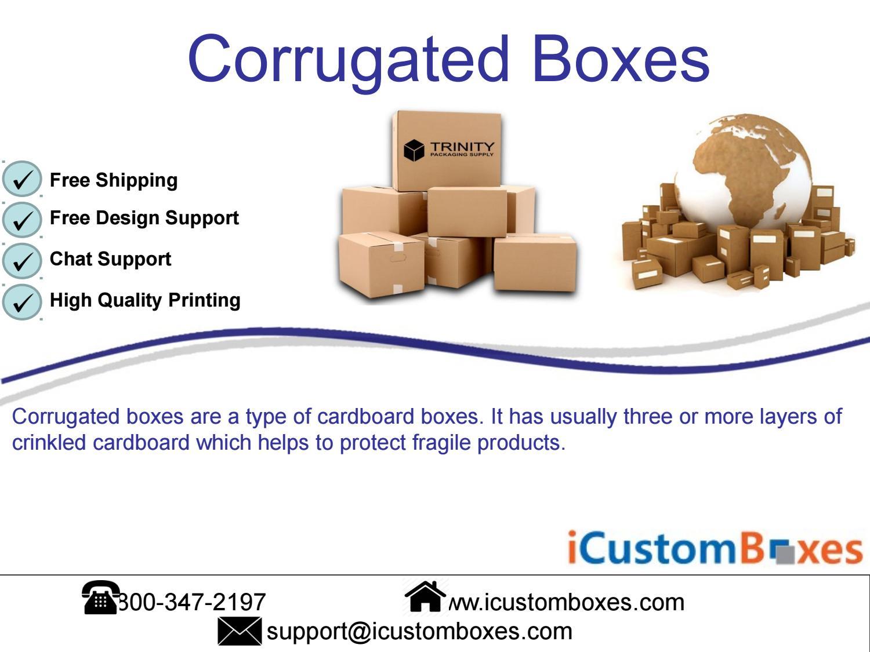 Custom Corrugated Boxes | Custom Corrugated Packaging Box