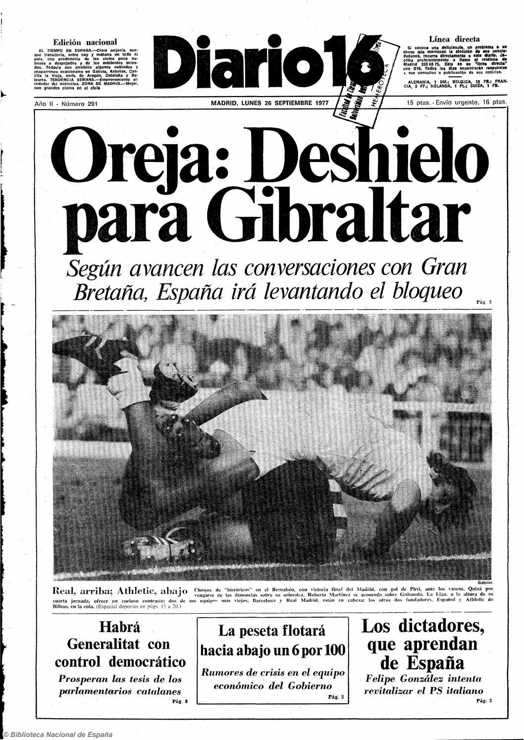Diario 16 26 9 1977 By Diario16deburgos Issuu