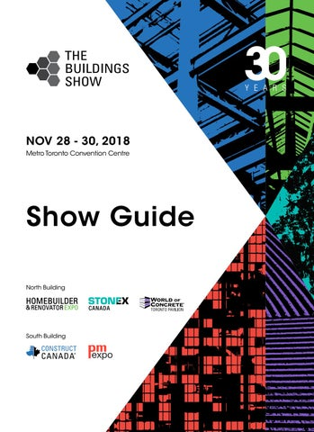 The Buildings Show 2018 Show Guide By Real Estate Forums