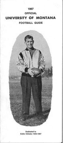 d7cbaf16 1967 Football Media Guide by University of Montana Athletics - issuu