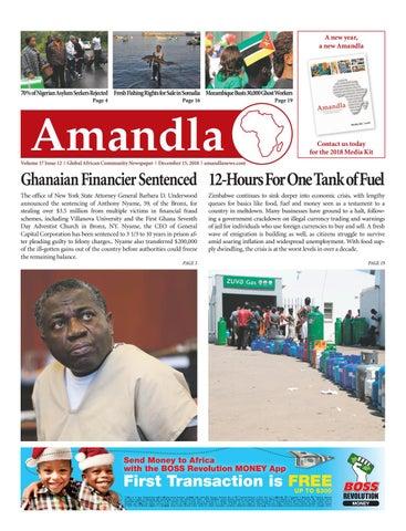 Amandla News - December 2018 by Amandla News - issuu