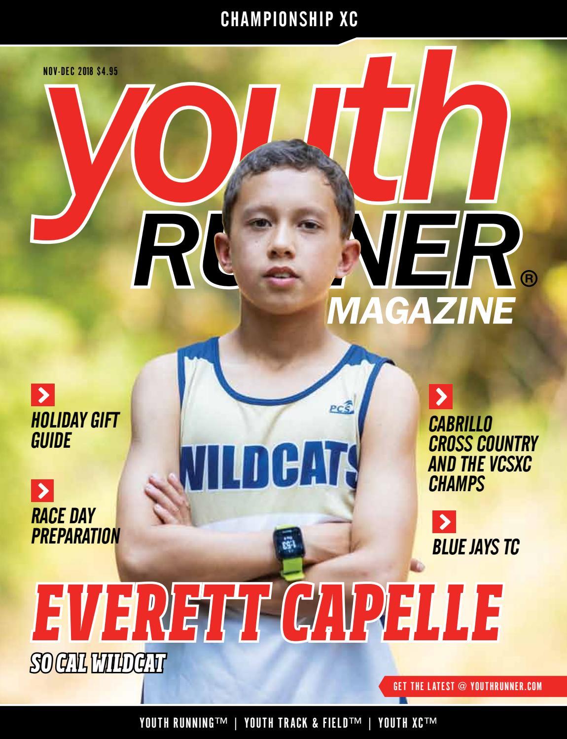 Youth Runner Magazine November December 2018 by Gosportz