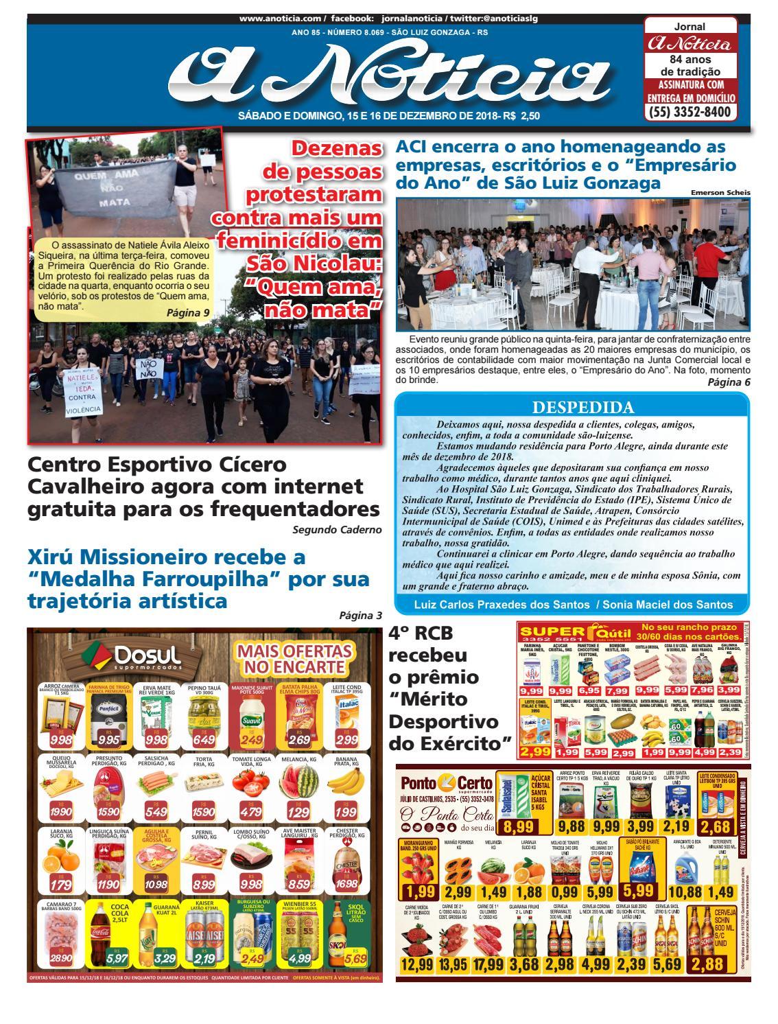 Edição de 15 e 16 de dezembro de 2018 by Jornal A Notícia - issuu 82c8ee2ff8