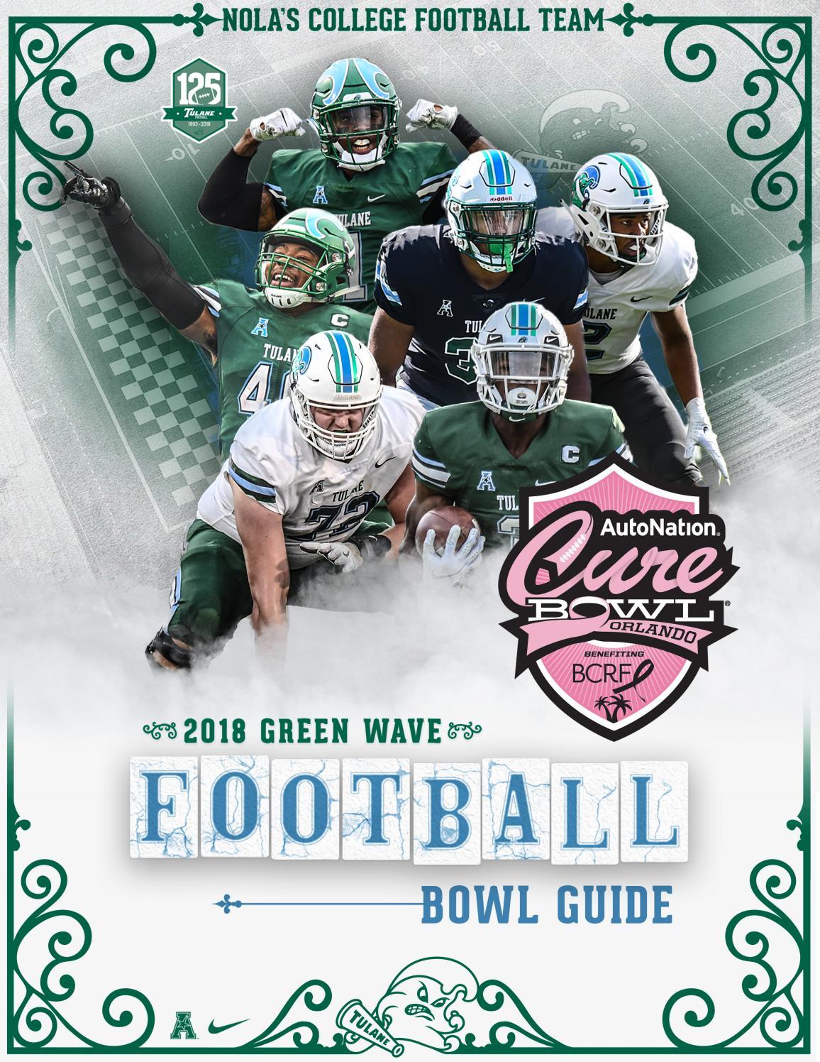 Tulane Football AutoNation Cure Bowl Media Guide by TulaneGreenWave - issuu 3a3d8b244
