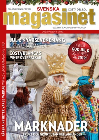 save off eb871 57594 December 2018 by Svenska Magasinet, Spanien - issuu