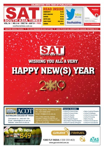 SAT December 2018 by South Asia Times - issuu