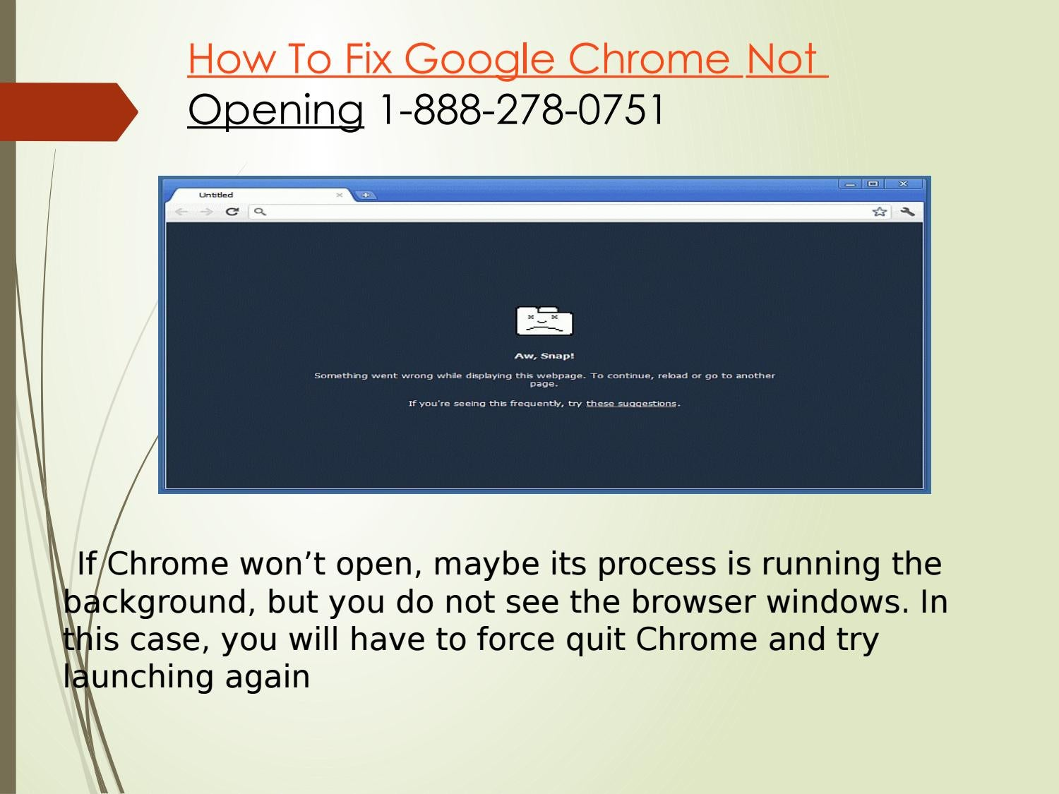 Google Chrome Not Loading 1-888-278-0751 by anna wills - issuu