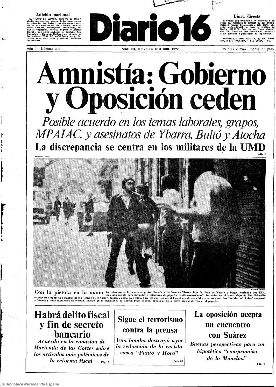 76c100e6acd8 Diario 16. 6-10-1977 by diario16deburgos - issuu