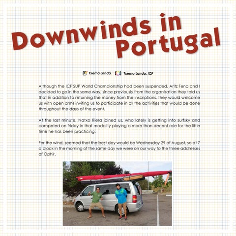 Page 120 of Downwinds in Portugal Up#23 . Up Suping Magazine