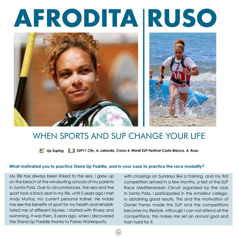Page 26 of Afrodita Ruso interview Up#23 . Up Suping Magazine