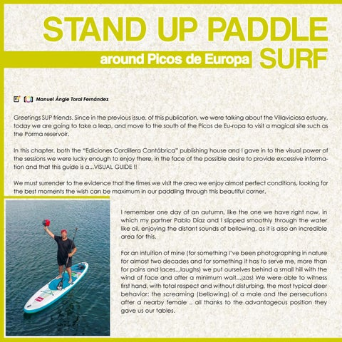 Page 86 of SUP around Picos de Europa Up#23 . Up Suping Magazine