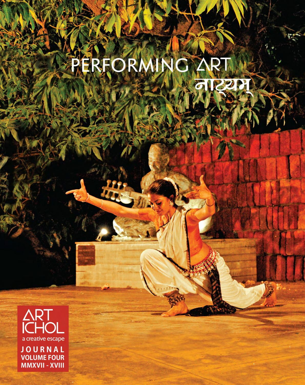 Art Ichol Journal - 4th Volume - Performing Art - Natyam by