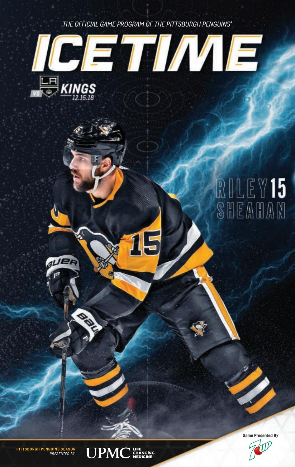 Icetime Game 17 Vs Los Angeles Kings 12 15 18 By Pittsburgh Penguins Issuu